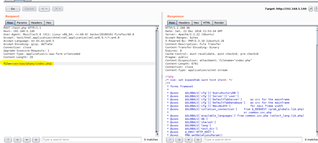 Exercise : Scanning #2 Local File Inclusion (LFI) BiluBox